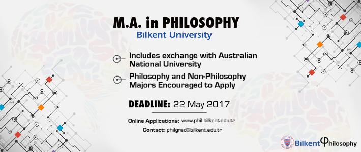 New MA Program In Philosophy