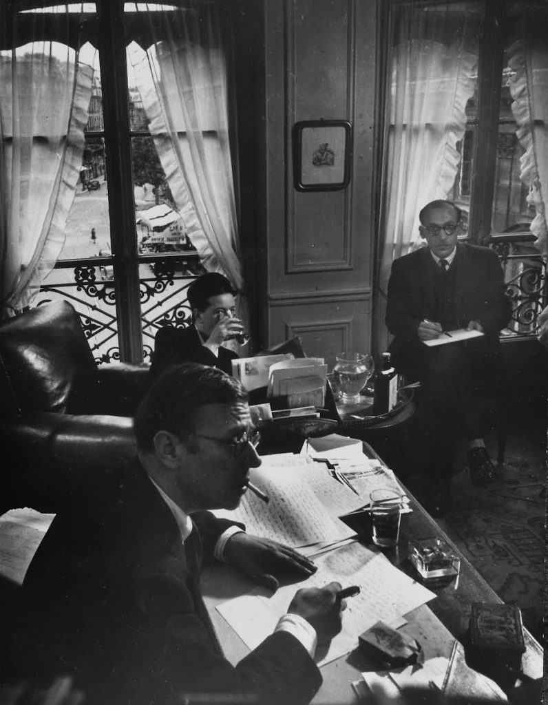 Fotoğrafın Arkasındaki Hikaye: Sartre, Beauvoir & Steinberg