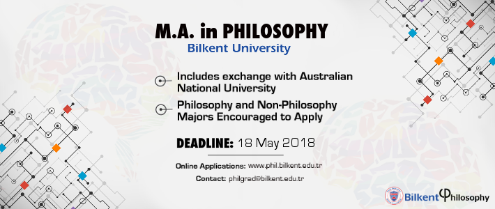 Applications for the M.A. in Philosophy