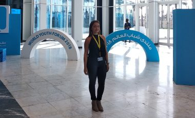 BA Student attended World Youth Forum in Egypt
