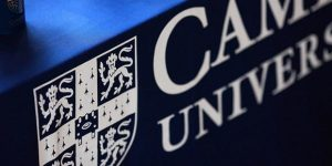 MA student accepted into PhD program at Cambridge University