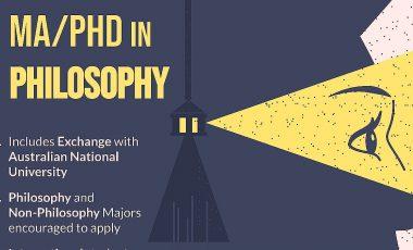 Regular application deadline for MA/PhD (May 29)